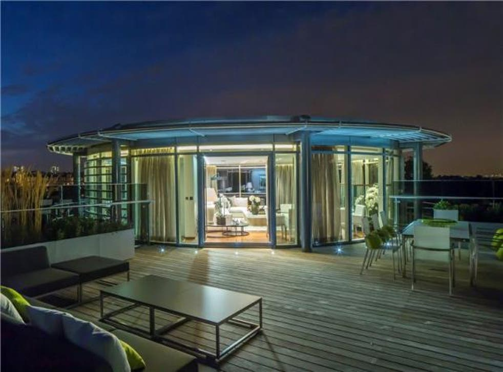 Five bedroom new flat for sale, Penthouse B The Atrium, 127-131 Park Road, London NW8. On with Aston Chase at £9,750,000